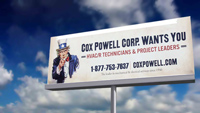 Cox-Powell Wants you